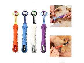 Zubní kartáček pro kočky a psy