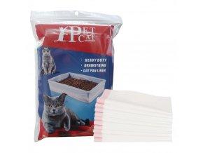 Podestýlka pro kočky - umělohmotné podložky