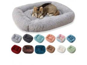 Plyšový pelíšek pro kočky a psy