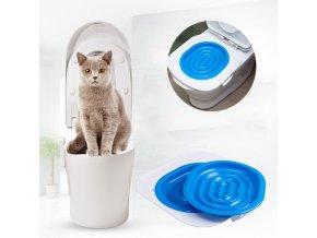 Potřeby pro kočky - podložka na WC