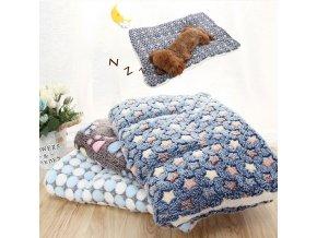 Plyšový pelíšek pro kočky a psy CUSHION