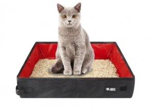 Stelivo pro kočky- nádoba Bella