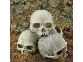 Dekorace do akvária- skull