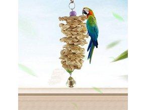 Hračky pro papoušky - prolézačka se zvonečkem