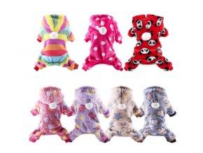 Oblečky pro psy- pyžamko Fluffy