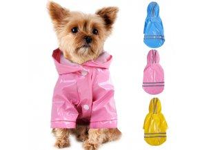 Oblečky pro psy- pláštěnka Majky