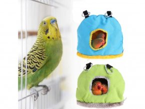 Klec pro papoušky- zateplený domeček Doren