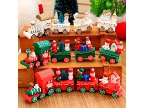 Hračky pro děti- vláček Christmas