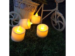 LED svíčky - různé barvy COLOURS