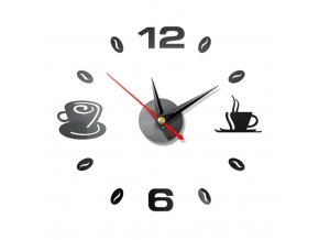 3D nástěnné hodiny KITCHEN