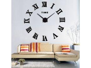 3D nástěnné hodiny TIME