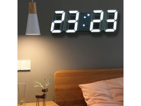 3D digitální hodiny CLOCK