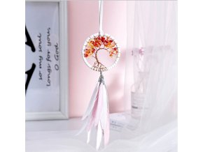3 main modern style handmade weave dreams catcher car pendant colorful stones mini tree of life dreamcatcher decor hanging girl gifts