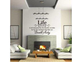 Samolepky na zeď Life