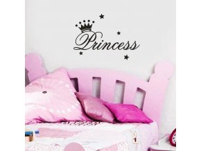 Samolepky na zeď Princess