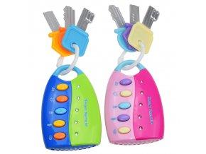 Hračky - hudební klíč