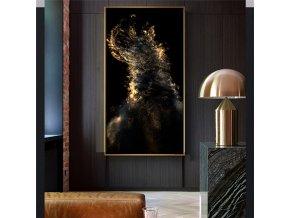 Obrazy GoldenBlack