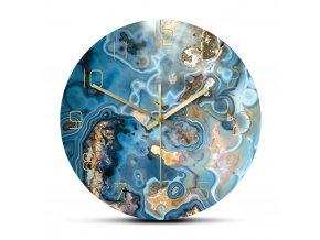 Nástěnné hodiny Crystals