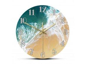 Nástěnné hodiny Wild Sea