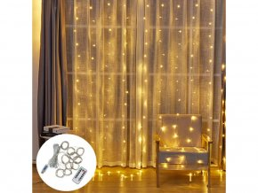 Vánoční LED závěs
