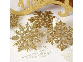 Vánoční dekorace - vločky