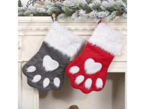 Vánoční dekorace - rukavice Pet