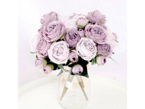 Umělé květiny Pivoňka Decor