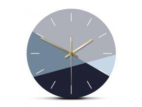 Nástěnné hodiny Blue