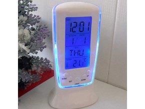 Digitální hodiny Light