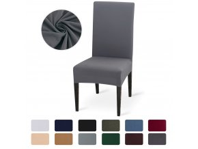 Jednobarevné potahy na židle
