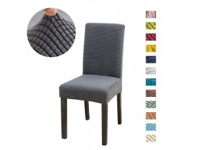 0 main solid jacquard chair covers spandex for wedding dining room office banquet housse de chaise chair cover
