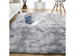 Plyšový koberec (Barva Modrá)