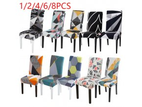 0 main 12468pcs geometric lattice chair cover stretch dining seat protector slipcovers universal size chair covers spandex hotel