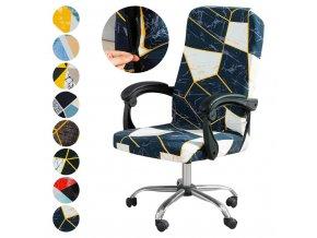 0 main junejour elastic chair covers modern elastic office chair cover computer chair slipcovers size ml