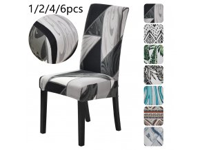 0 main 1246pcs stretch floral print chair cover home dining room chair covers multifunction spandex elastic cloth seat protector