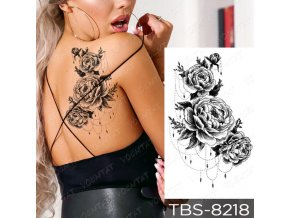 7 variant waterproof temporary tattoo sticker chest lace henna mandala flash tattoos wolf diamond flower body art arm fake tatoo women men