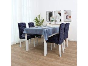 Elegantní sametový potah na židli