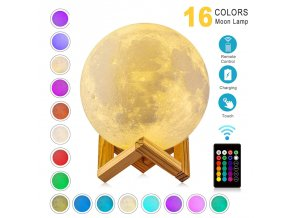 0 main zk20 led night light 3d print moon lamp rechargeable color change 3d light touch moon lamp childrens lights night lamp for home