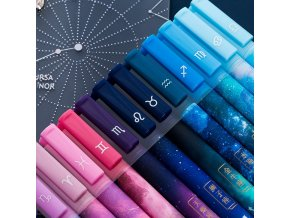 mainimage03pc lot Constellation Gel Pen Novelty 0 5mm Starry Black Ink Pen for Girl Gift Student