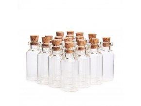 Skleněné lahvičky na přání