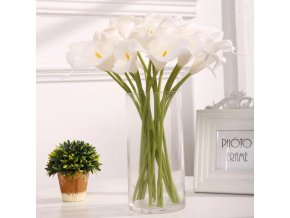 0 main 10pcs high quality real touch calla lily artificial flowers calla lily bouquet for wedding bouquet bridal home flower decoration