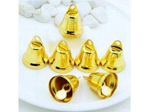 Dekorační zvonečky zlaté