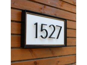 Moderní domovní čísla SIMPLE