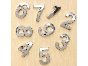 Samolepící domovní čísla BASIC