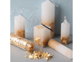Dekorace na výrobu svíček či mýdla