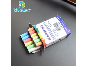 mainimage012 pcs Lot Dustless Chalk Pen Drawing Chalks For Blackboard 6 Colors Stationary Office School Supplies