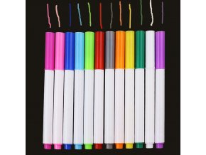 mainimage012 Pcs set Different Colors Water soluble Liquid Chalk Children s Drawing Pen Non dust Board