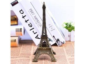 1 main 5 13cm bronze paris tower metal crafts figurine statue model home decor souvenir model kids toys for children