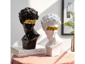 Moderní dekorace - socha hlavy