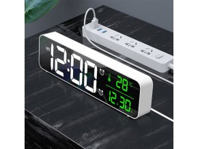 LED digitální budík HOME